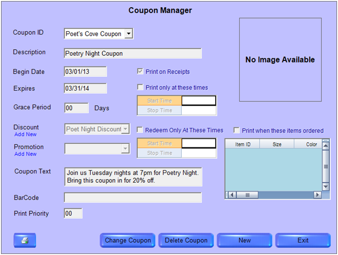 Tips & Tricks:  Using CSM Coupon Manager
